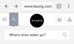 keurig search