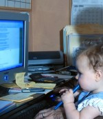 child as web developer